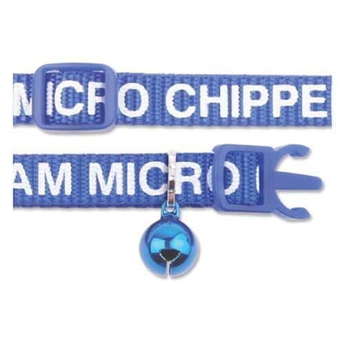 Ancol Cat Collar I Am Microchipped