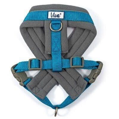 Ancol Viva Padded Dog Harness Blue
