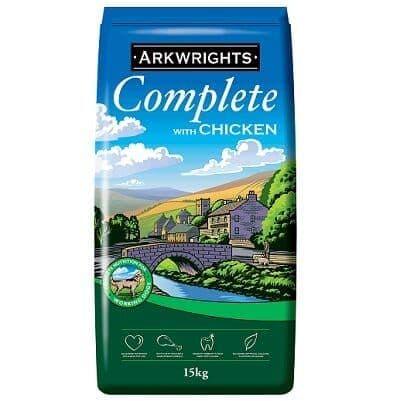 Arkwrights Complete Chicken Dog Food 15kg