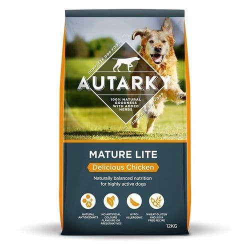 Autarky Chicken Mature Lite Dog Food 12kg