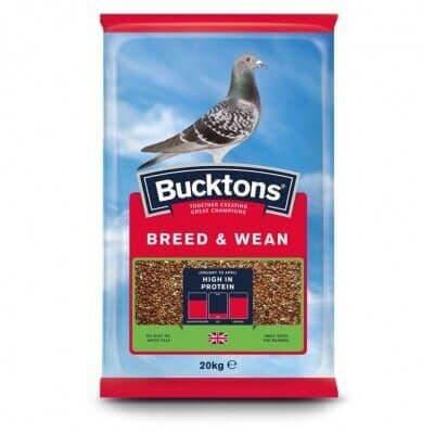 Bucktons Breed & Wean Pigeon Feed 20kg