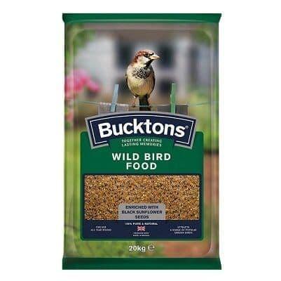 Bucktons Wild Bird Seed Mix 20kg