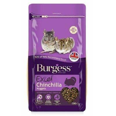 Burgess Excel Chinchilla Nuggets 1.5kg