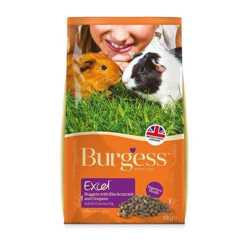 Burgess Excel Guinea Blackcurrant & Oregano 2kg