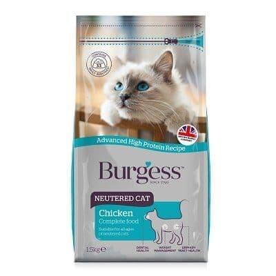 Burgess Neutered Cat Chicken 1.5kg