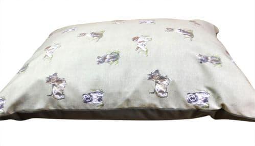 Country Dog Cushion