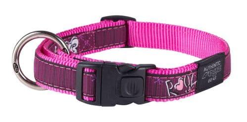 Dog Collar Fancy Dress Collar - Pink Love
