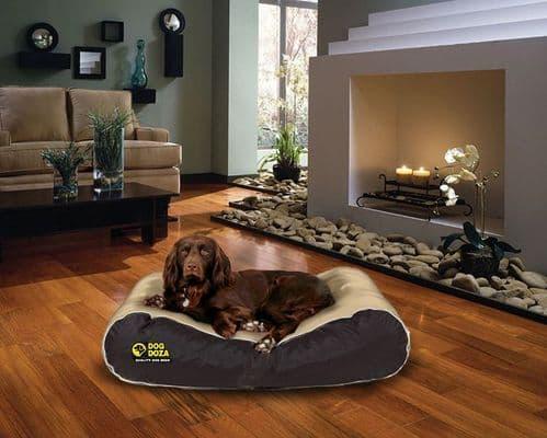 Dog Doza Waterproof Box Border Dog Bed