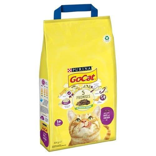 Go Cat Comp Chicken & Duck 4kg
