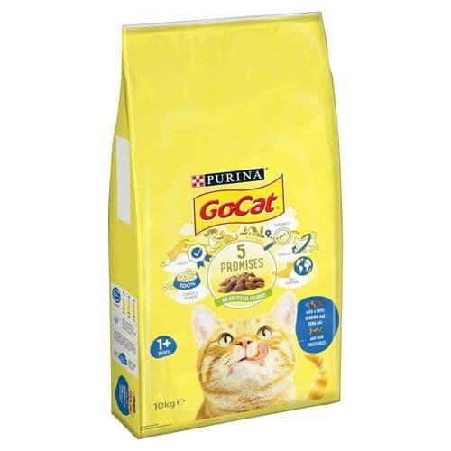 Go-Cat Comp Tuna, Herring & Vegetables 10kg