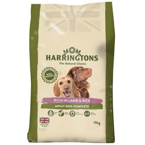 Harringtons Lamb & Rice Dog Food 15kg