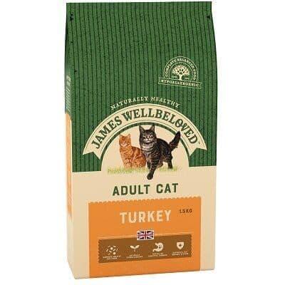 James Wellbeloved Adult Cat Turkey 1.5kg