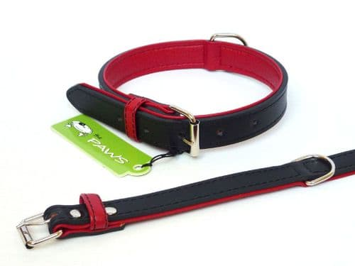 Leather Collar - The Paws Fusion range