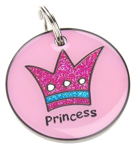 Pet ID Tag Princess ID Tag