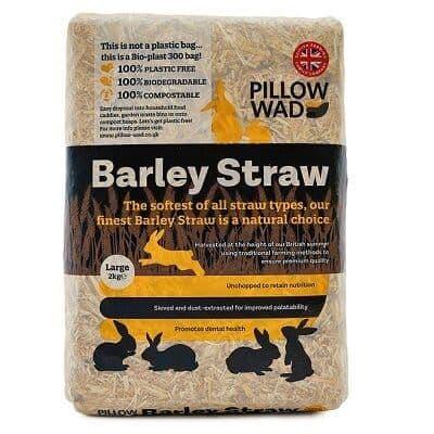 Pillow Wad Bio Barley Straw Large 2kg