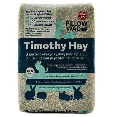 Pillow Wad Bio Timothy Hay Large 2kg