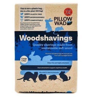 Pillow Wad Bio Woodshavings Large 3.6kg