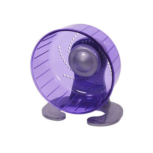 Rosewood Pico Exercise Wheel with Stand Purple