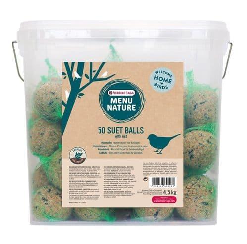 Versele Laga Menu Nature 50 Suet Balls with Nets
