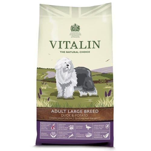 Vitalin Adult Grain Free Duck & Potato 12kg