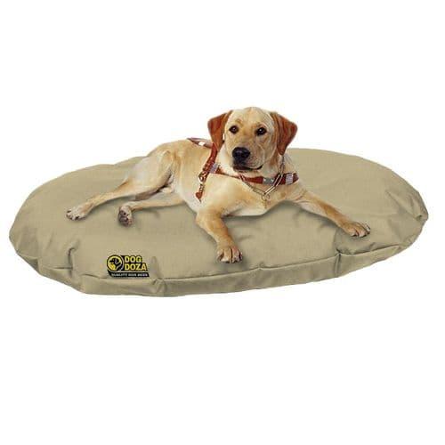 Waterproof Oval Memory Foam Crumb filled Dog Bed