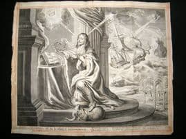 A. Hertoch after C. P. C. Fruytirs? 1662 Folio. Charles 1st, Ship, Globe, Classical