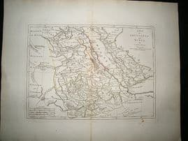 Abyssinia & Nubia, Yemen, Red Sea, Ethiopia, etc 1794 Map, Laurie & Whittle