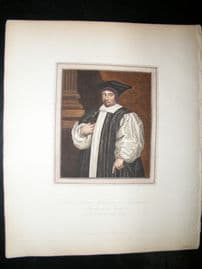 Ackermann History of Oxford 1815 H/Col. Gilbert Sheldon, Archbishop of Canterbury