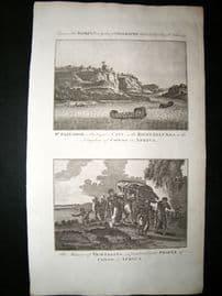 Africa C1790 Folio Antique Print. St. Salvador, Congo