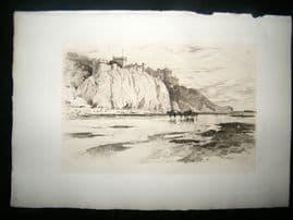 Amand Durand after George Reid 1885 Heliogravure. Culzean Castle