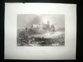 Austria: 1855 Steel Engraving, Spielberg