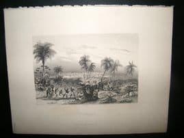 Brazil 1847 Antique Print. St. Salvador