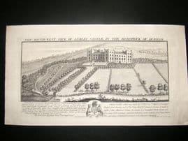 Buck 1726 Folio Architecture Print. Lumley Castle, Durham