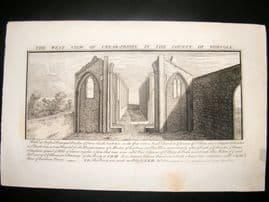Buck C1820 Folio Architecture Print. Creak-Priory, Norfolk