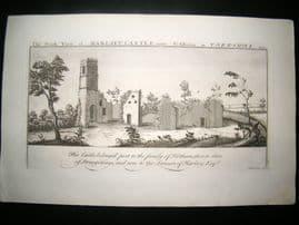 Buck C1820 Folio Architecture Print. Harlsey Castle, North Allerton, Yorkshire