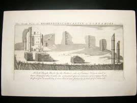 Buck C1820 Folio Architecture Print. Knaresborough Castle, Yorkshire