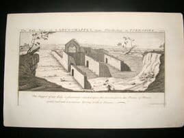 Buck C1820 Folio Architecture Print. Lady's Chappel, Osmotherley, Yorkshire