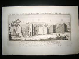 Buck C1820 Folio Architecture Print. St. Martins Abbey, Richmond, Yorkshire