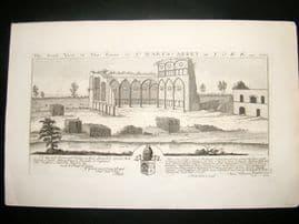 Buck C1820 Folio Architecture Print. St. Mary's-Abbey, York