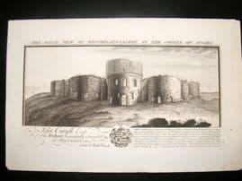Buck C1820 Folio Architecture Print. Winchelsea Castle, Sussex