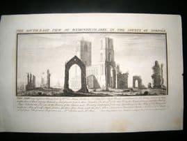 Buck C1820 Folio Architecture Print. Wymondham Abbey, Norfolk