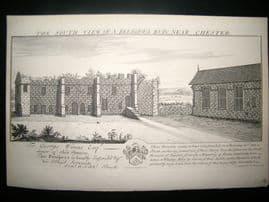 Buck C1879 Folio Architecture Print. Religious Ruin, near Chester