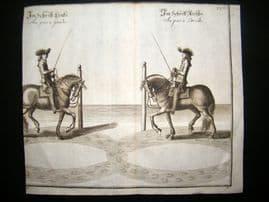 Cavendish Equestrian Dressage 1700 Antique Horse Print 32