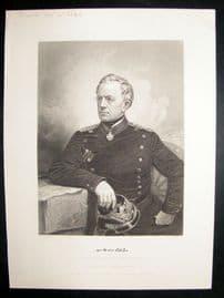 Count Von Moltke 1873 Antique Portrait Print