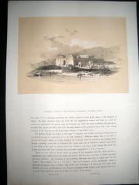 David Roberts Egypt 1848 Half Folio. General View of Kalabshee, Nubia