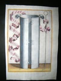 Ferrari 1633 Hand Col Garden Tool Print. Tubus Ferreus as Plantas 67