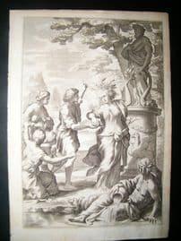 Ferrari & Bloemaert 1646 Folio Classical Engraving