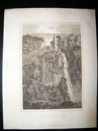 France C1810 Antique Print. Bridge of Gueule d'Enfer