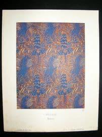 Gazette du Bon Ton 1920 Art Deco Interior Design Litho. Pegase