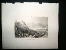 Germany 1836 Antique Print. Leonburg